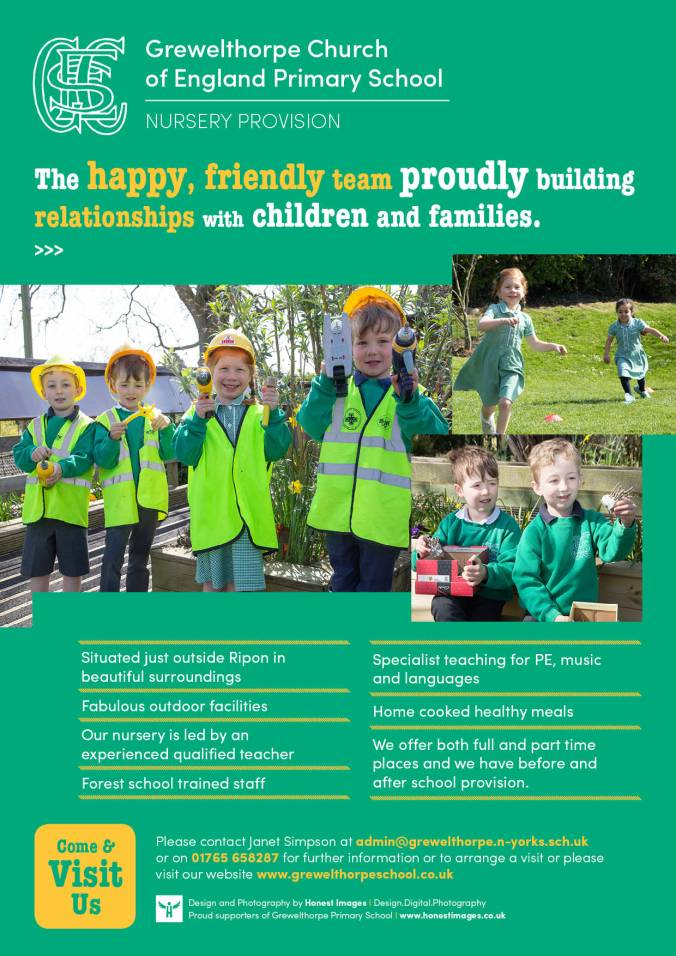 Nursery Ripon Review Advert 2018